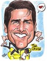 Tom Cruise Caricature