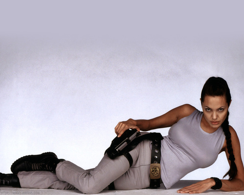 Tomb Raider - angelina-jolie Wallpaper