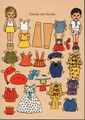 Tommy and Annika Paper Dolls - pippi-longstocking photo