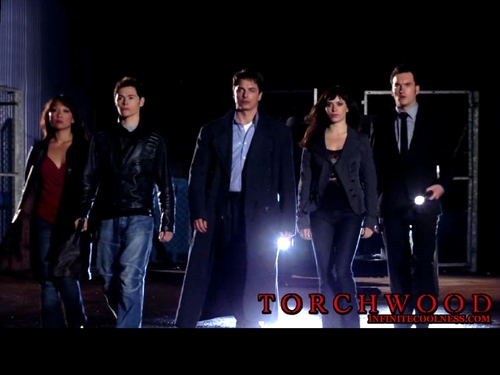 Television wallpaper entitled Torchwood