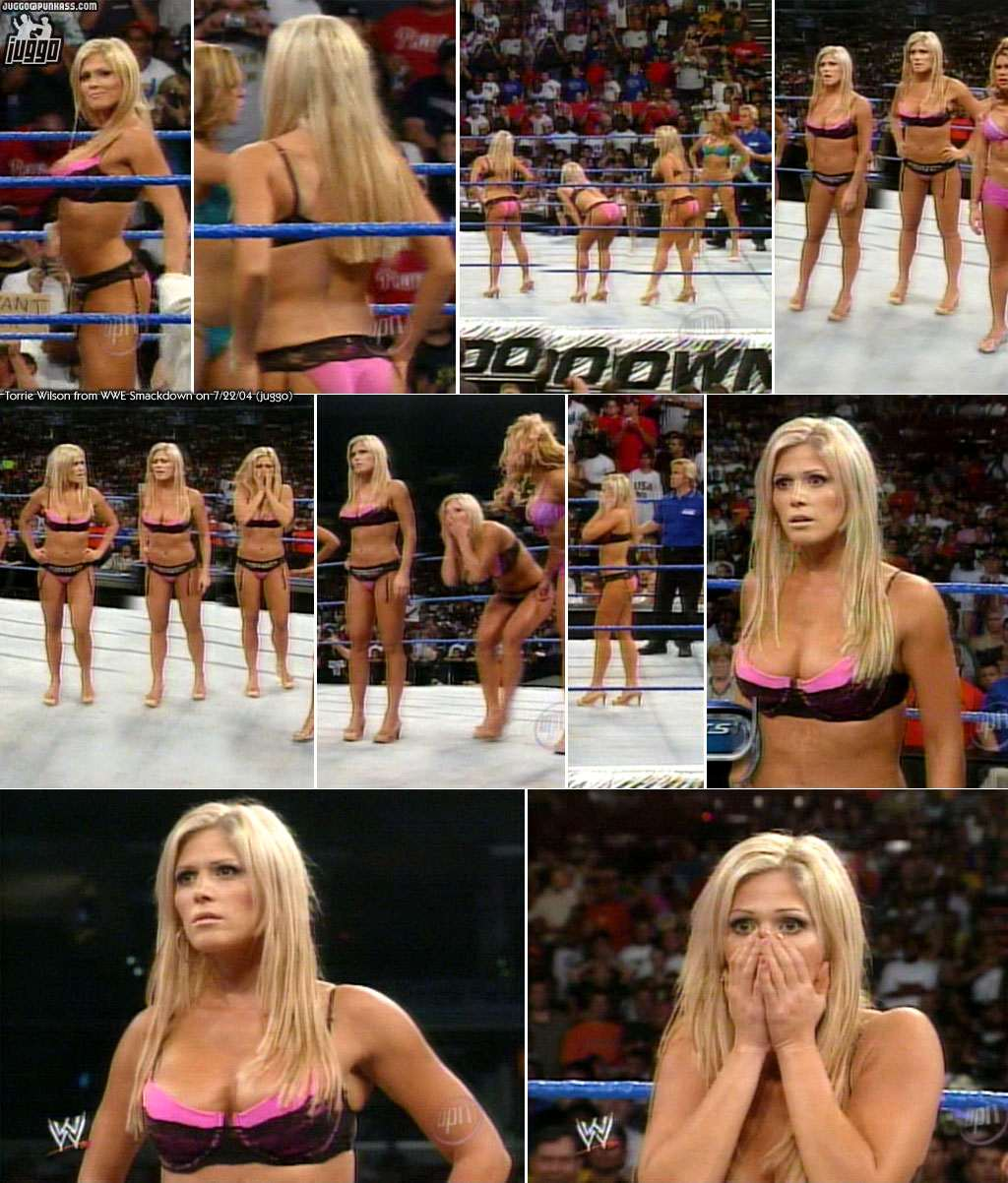 Torrie in smackDown