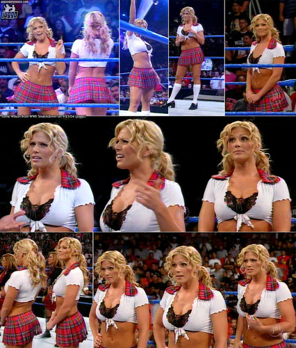 Torrie on Smack Down