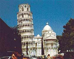 Europe achtergrond called Tower of Pisa
