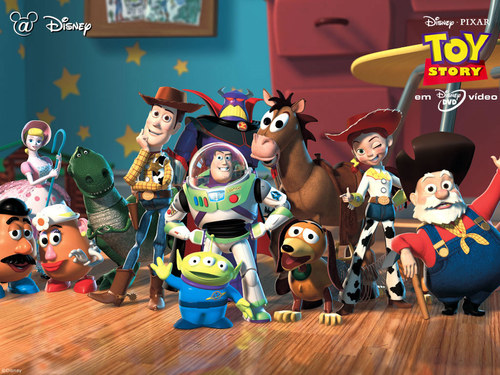 Pixar wallpaper titled Toy Story 2