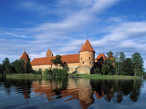 Trakai château - Lithuania