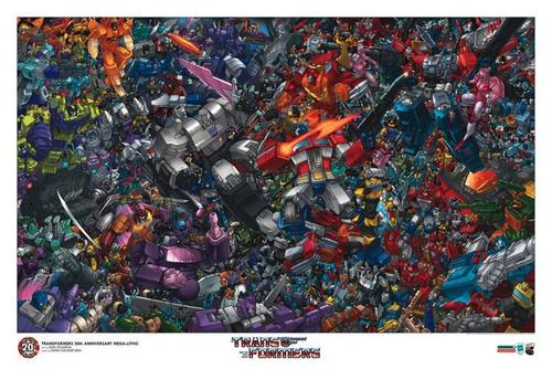 Transformers 20th Anniversary
