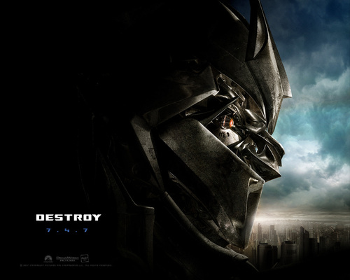 Transformers wallpaper titled Transformers Movie: Megatron
