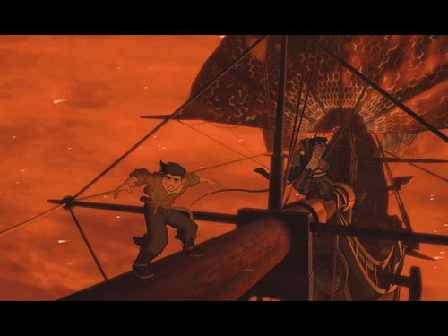 Disney wolpeyper entitled Treasure Planet