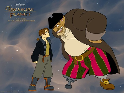 disney fondo de pantalla called Treasure Planet