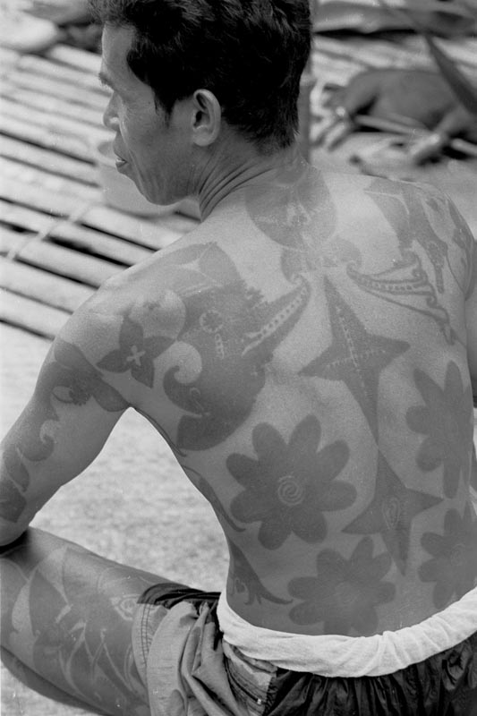 Tribal tattoo - The Philippines 533x800