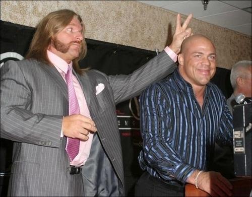 Triple H & Kurt Angle