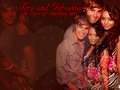 Troy and Gabriella - high-school-musical wallpaper