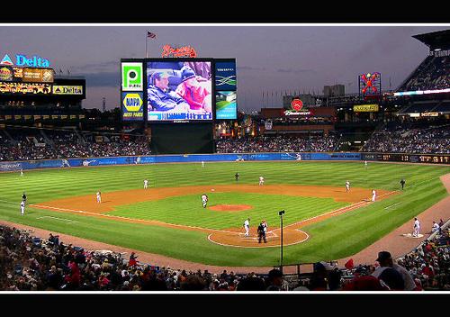 Atlanta fondo de pantalla titled Turner Field