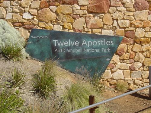 Twelve Apostles Marker