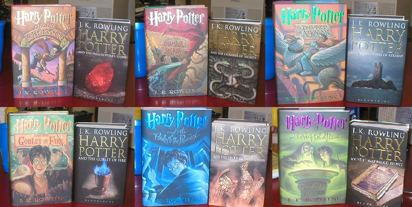 Harry Potter Original Book Covers Uk : Us covers vs foreign books page sufficient