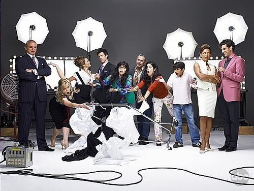 Ugly Betty cast wallpaper