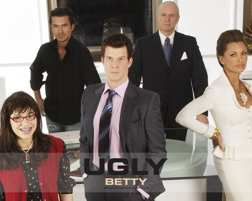 Ugly Betty wallpaper titled Ugly betty Cast