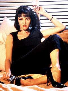 Uma in Pulp Fiction - uma-thurman Photo