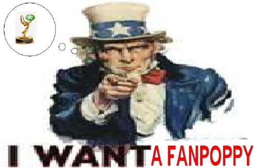 Uncle sam wants a fanpoppy