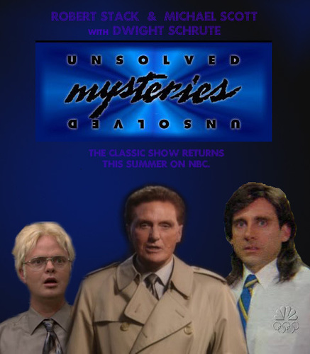 The Office achtergrond titled Unsolved Mysteries!