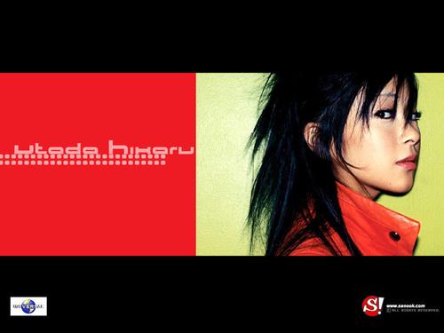 Utada Hikaru achtergrond titled Utada Hikaru