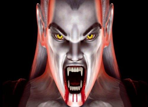 Vampire achtergrond