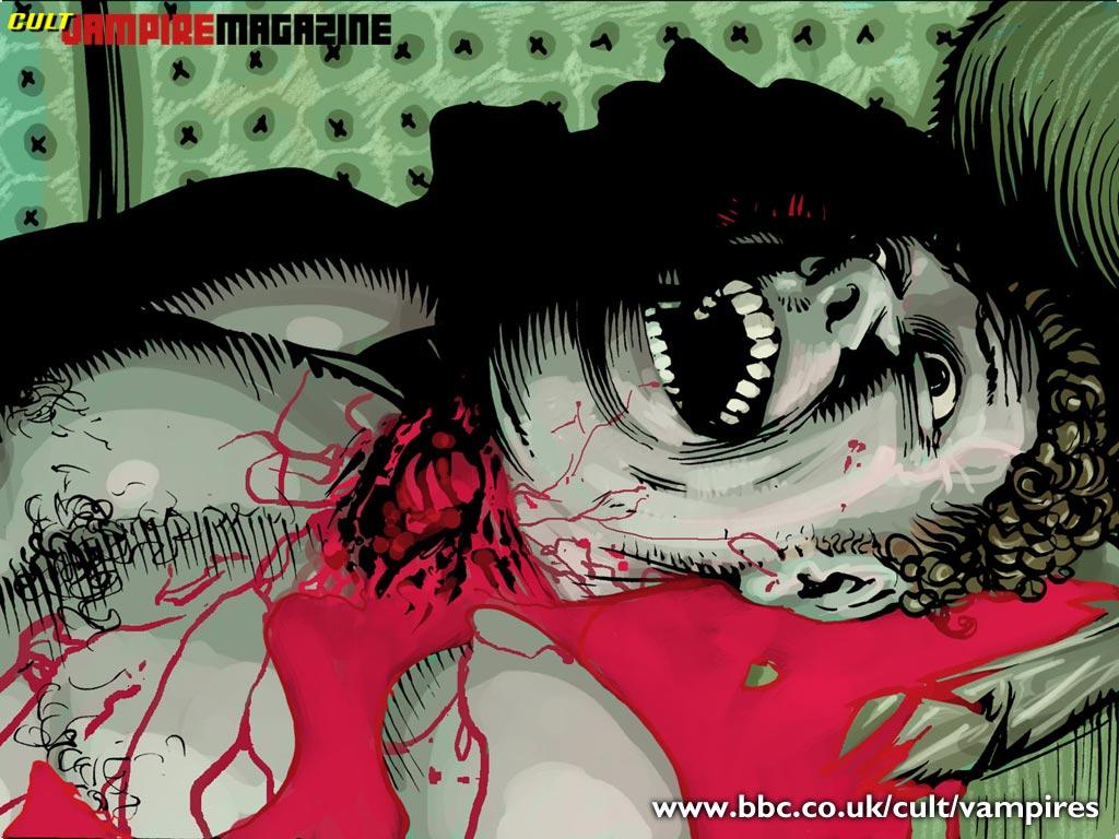 Vampire Wallpaper - Vampires Wallpaper (735008) - Fanpop