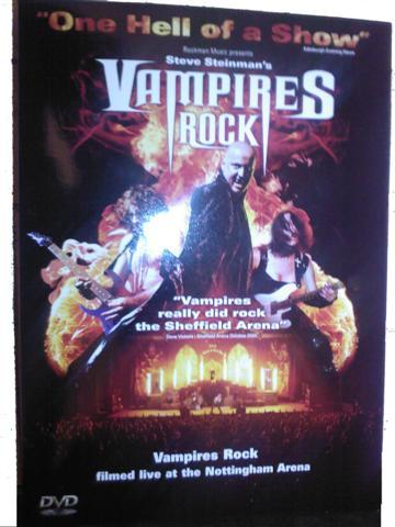 Vampiri#From Dracula to Buffy... and all creatures of the night in between. Rock DVD