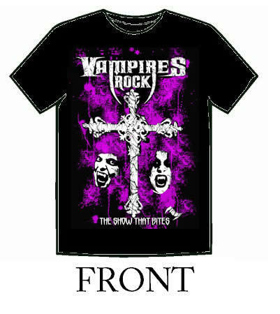 Vampiri#From Dracula to Buffy... and all creatures of the night in between. Rock t-shirt