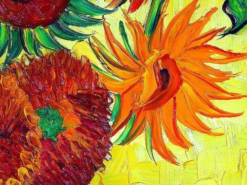 Fine Art Hintergrund titled transporter, van Gogh