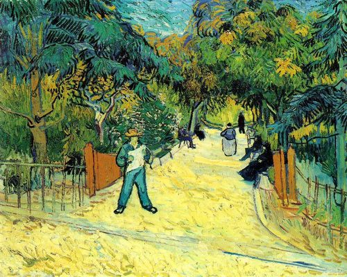 Fine Art Hintergrund called transporter, van Gogh