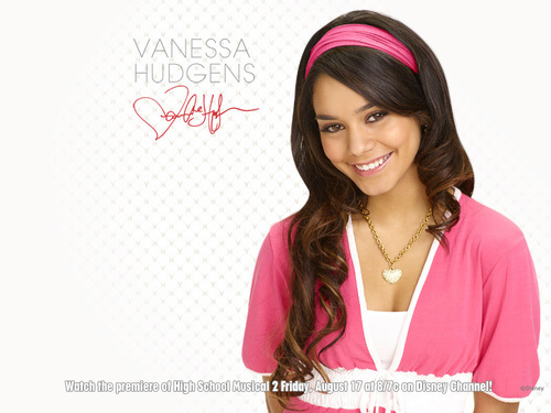 High School Musical wallpaper titled Vaness Is Cute