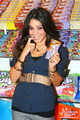 Vanessa Hudgens w/Wonka Bar - wonka-candy photo