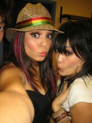 Vanessa and Friend
