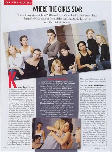 Vanity Fair - April 2002