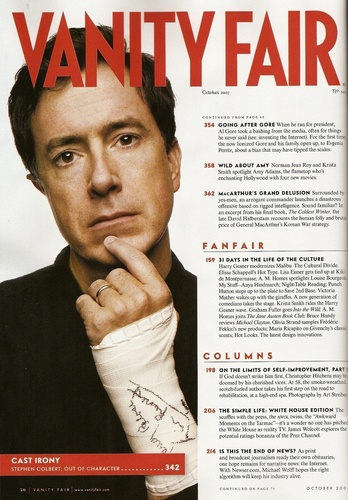 Vanity Fair October 2007