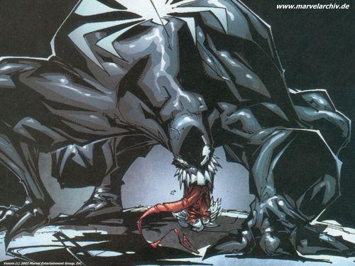 Venom karatasi la kupamba ukuta
