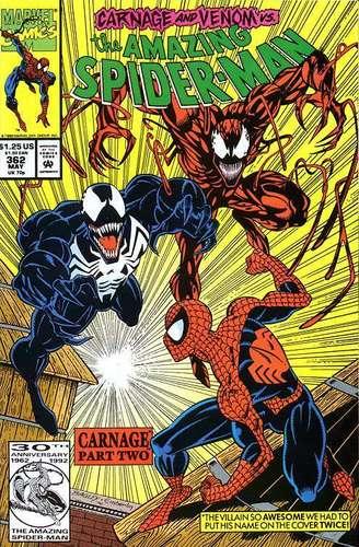 Venom and Carnage vs. Spidey