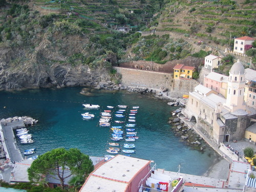 Italy Hintergrund called Vernazza
