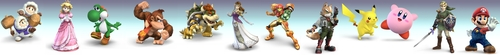 Super Smash Bros. Brawl ছবি titled Veteran Banner