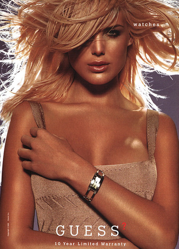 Guess wallpaper called Victoria Silvstedt