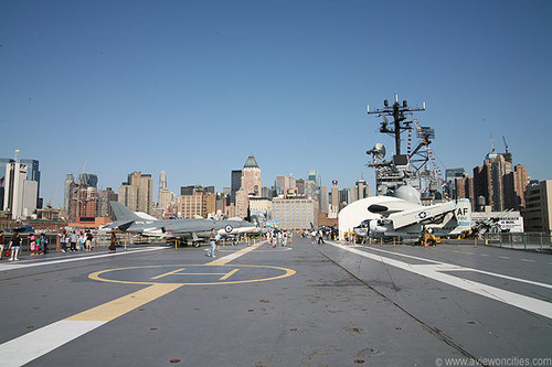View from The Intrepid
