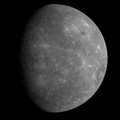 View of Mercury's Other Face