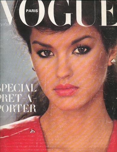 Vogue Paris: February 1979 - janice-dickinson Photo