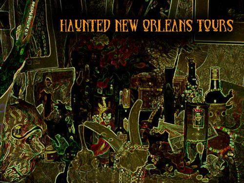 New Orleans Wallpaper Titled Voodoo Altar
