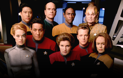 Voyager Crew - star-trek-voyager Photo
