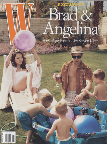 W Magazine July 2005 投资组合