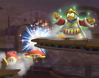Super Smash Bros. Brawl वॉलपेपर titled Waddle Dee Army