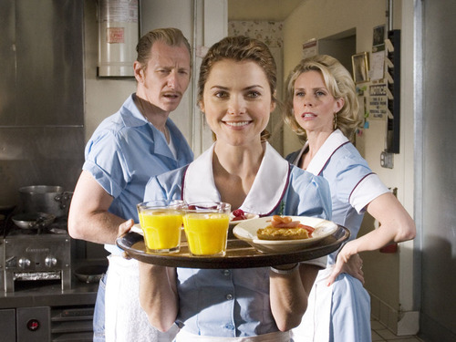 Film wallpaper entitled Waitress