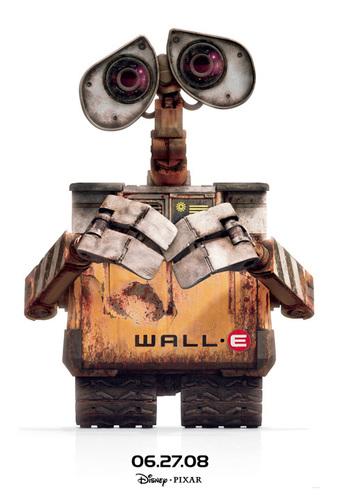 WALL-E Hintergrund titled Wall-E Promo Posters